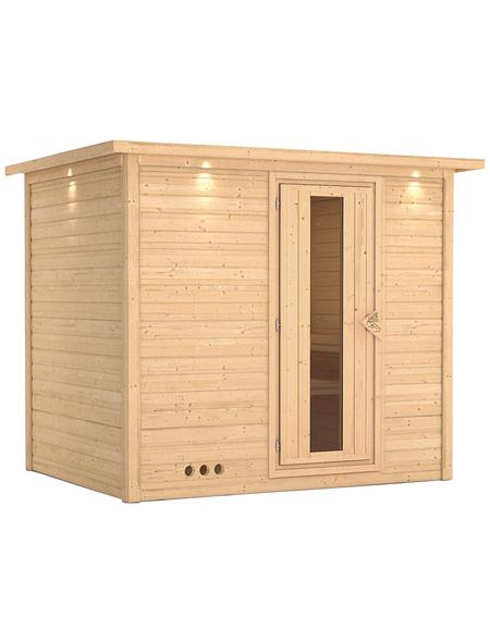 KARIBU Sauna »Paldiski« ohne Ofen
