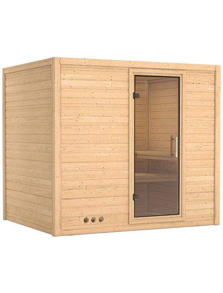 KARIBU Sauna »Paldiski«, ohne Ofen