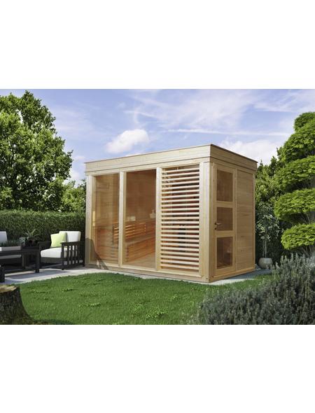 WOLFF Sauna »Paradiso«, B x T: 329 x 229 cm