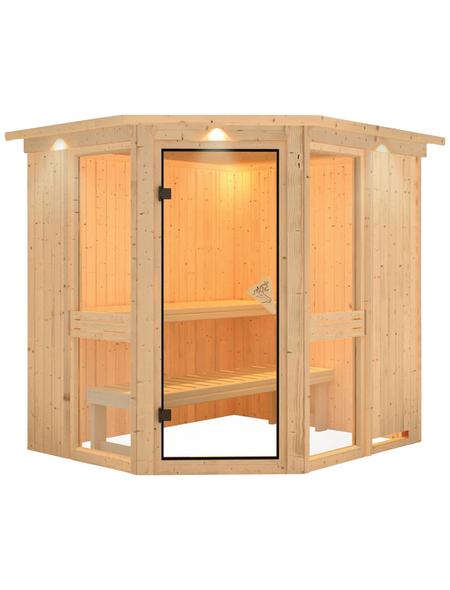 KARIBU Sauna »Pölva 1«, ohne Ofen