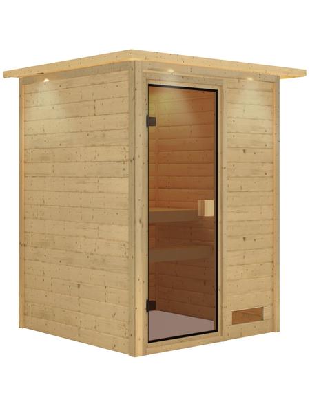 KARIBU Sauna »Prelly« ohne Ofen