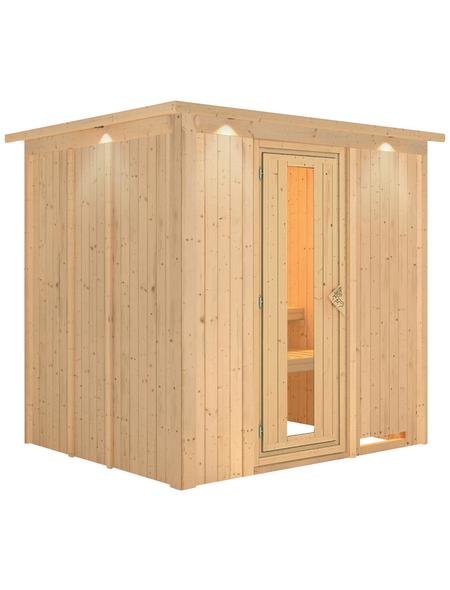 KARIBU Sauna »Rakvere« ohne Ofen