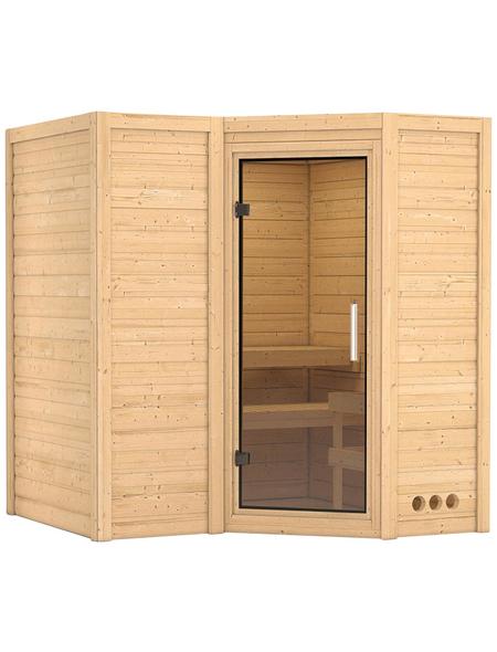 KARIBU Sauna »Riga 1« ohne Ofen