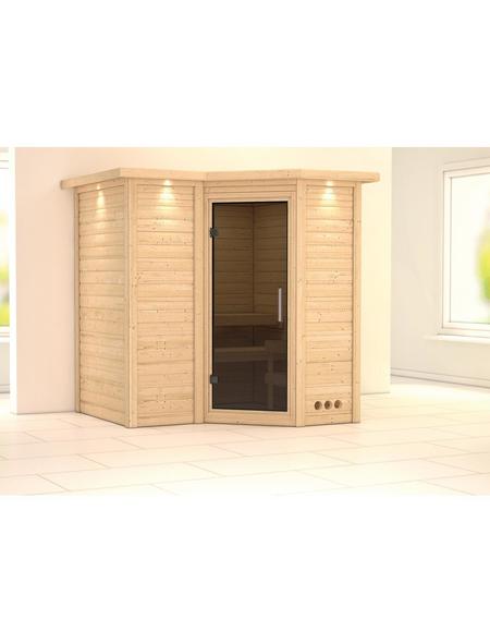 KARIBU Sauna »Riga 1«, ohne Ofen