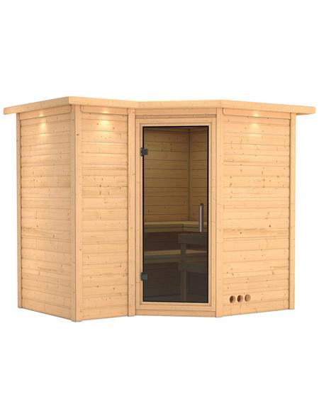 KARIBU Sauna »Riga 2«, ohne Ofen