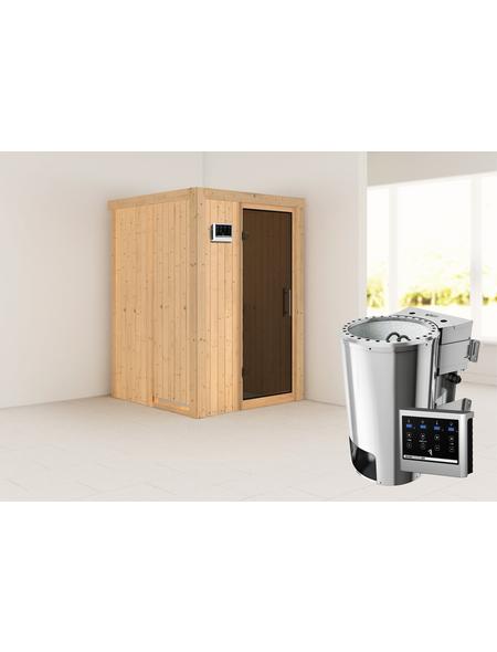 KARIBU Sauna »Rositten« mit Ofen, externe Steuerung