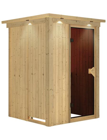 KARIBU Sauna »Rositten«, ohne Ofen