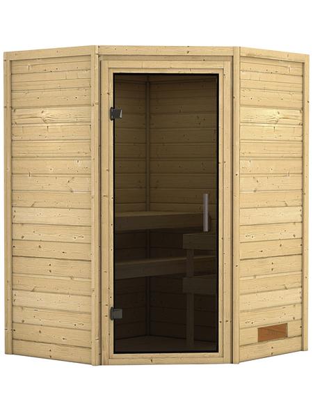 KARIBU Sauna »Rujen« ohne Ofen