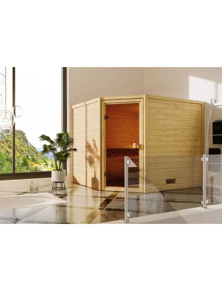 WOODFEELING Sauna »Sareen«, für 4 Personen ohne Ofen