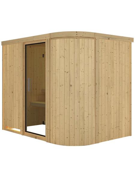 KARIBU Sauna »Saue 4«, ohne Ofen