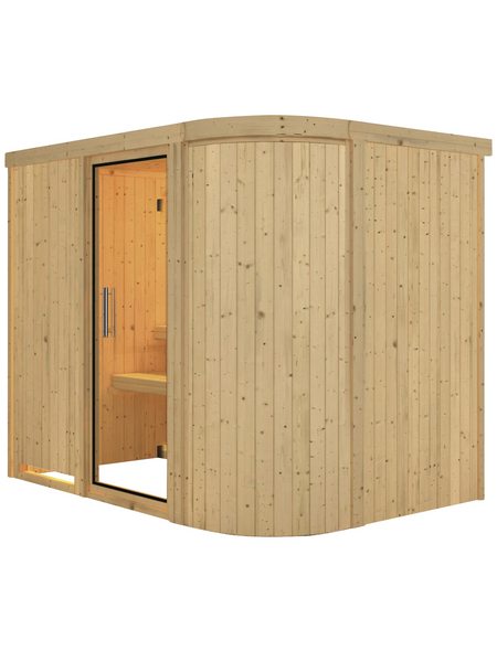 KARIBU Sauna »Saue 4« ohne Ofen