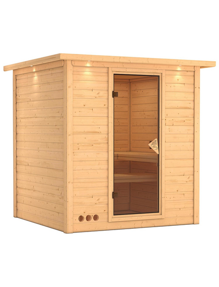 KARIBU Sauna »Sindi« ohne Ofen