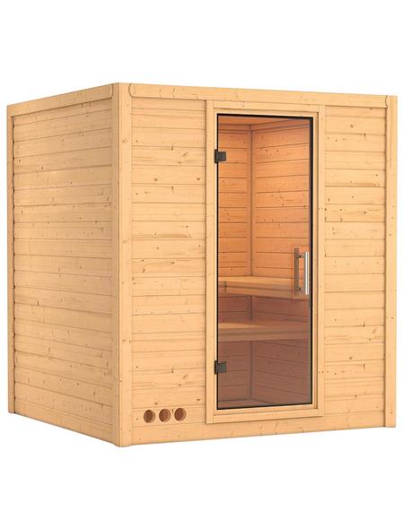 KARIBU Sauna »Sindi«, ohne Ofen