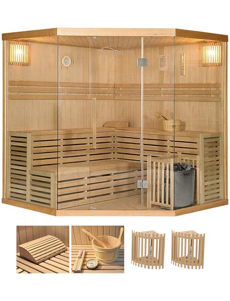 HOME DELUXE Sauna »Skyline«, mit Ofen, integrierte Steuerung