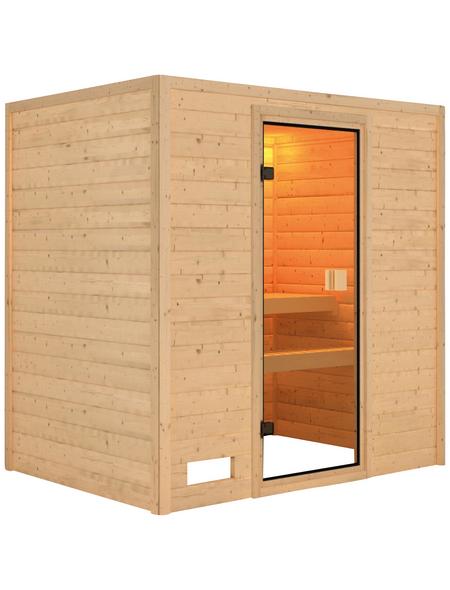 WOODFEELING Sauna »Sonja«, für 3 Personen ohne Ofen