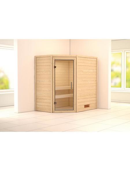 WOODFEELING Sauna »Svea« ohne Ofen
