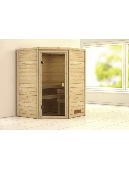 WOODFEELING Sauna »Svende«, für 4 Personen ohne Ofen