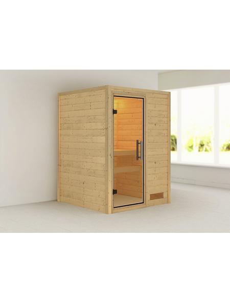 WOODFEELING Sauna »Svenja« ohne Ofen