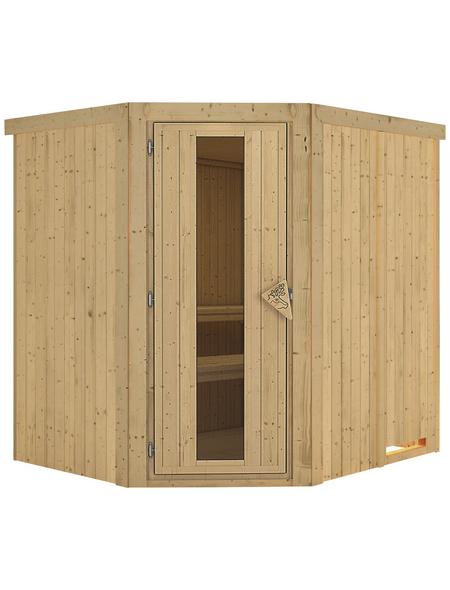 KARIBU Sauna »Talsen«, ohne Ofen