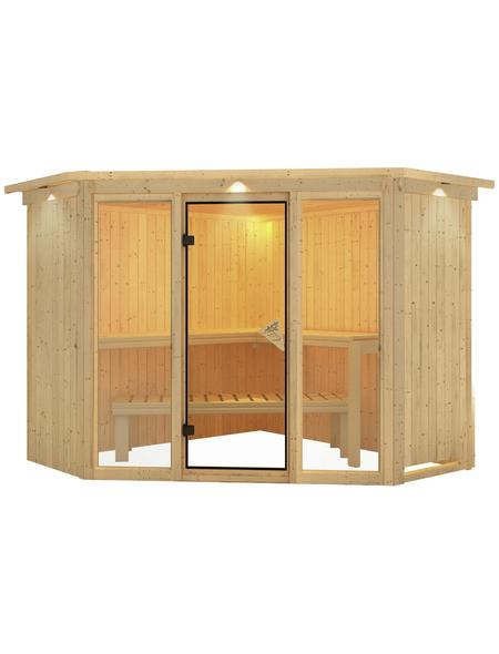 KARIBU Sauna »Tapa 2«, ohne Ofen
