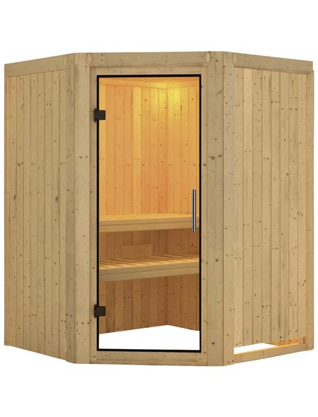 KARIBU Sauna »Tartu«, ohne Ofen
