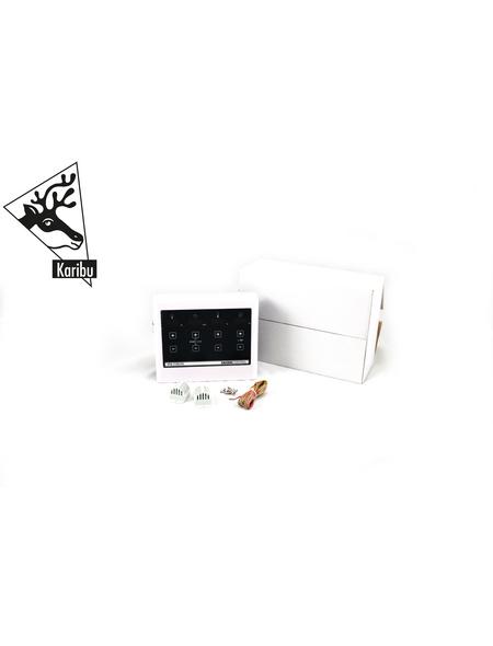 KARIBU Sauna »Tuckum« mit Ofen, externe Steuerung