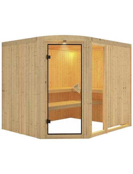 KARIBU Sauna »Türi«, für 4 Personen ohne Ofen
