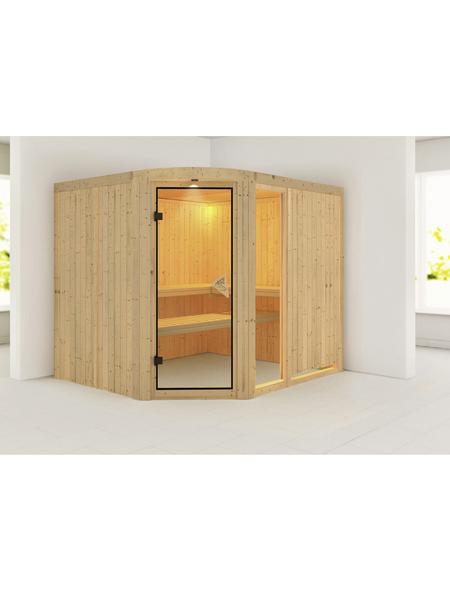 KARIBU Sauna »Türi«, ohne Ofen