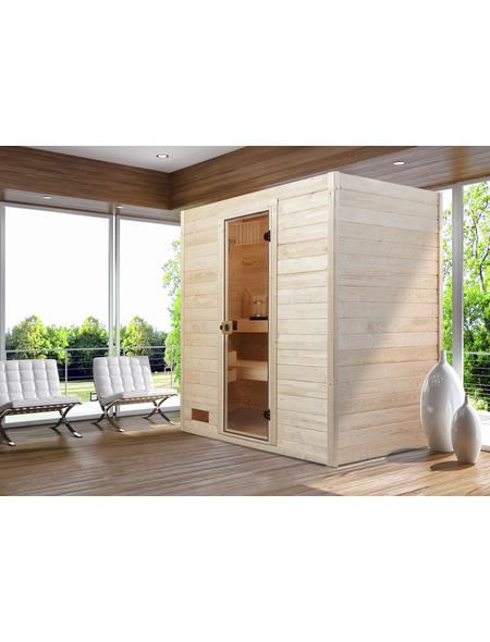 WEKA Sauna »Valida 2«, für 2 Personen ohne Ofen