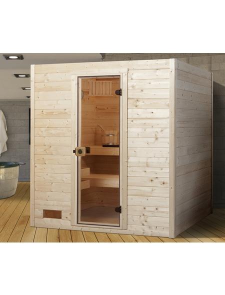 WEKA Sauna »Valida 3«, für 4 Personen ohne Ofen
