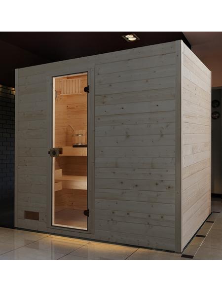 WEKA Sauna »Valida 4«, für 3 Personen ohne Ofen