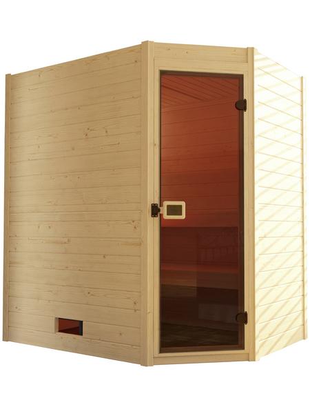 WEKA Sauna »Valida«, für 2 Personen ohne Ofen