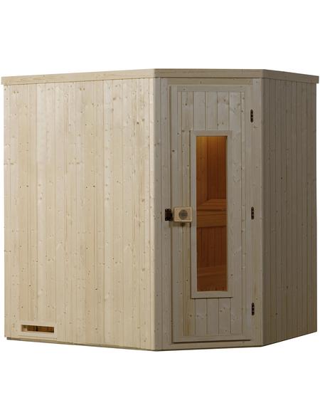 WEKA Sauna »VARBERG 1«, ohne Ofen