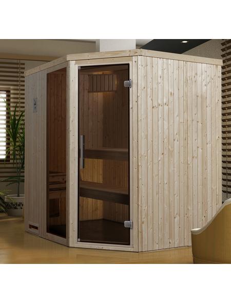 WEKA Sauna »Varberg 2«, für 3 Personen ohne Ofen