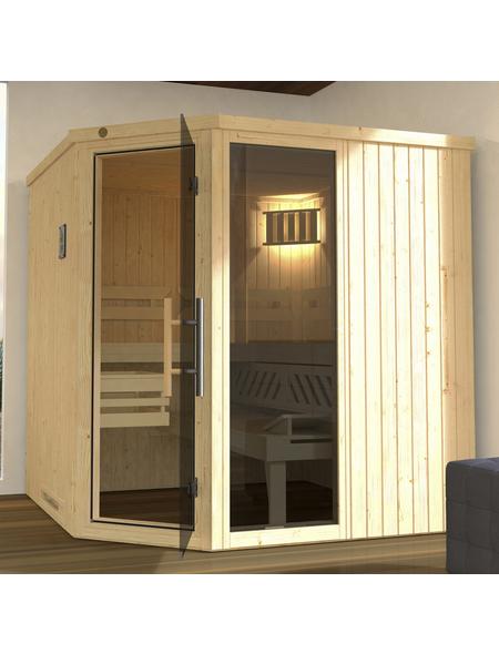 WEKA Sauna »Varberg 3«, für 4 Personen ohne Ofen