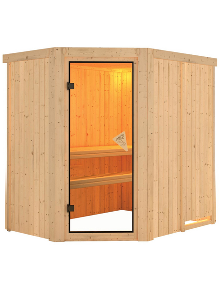 KARIBU Sauna »Vijandi«, ohne Ofen