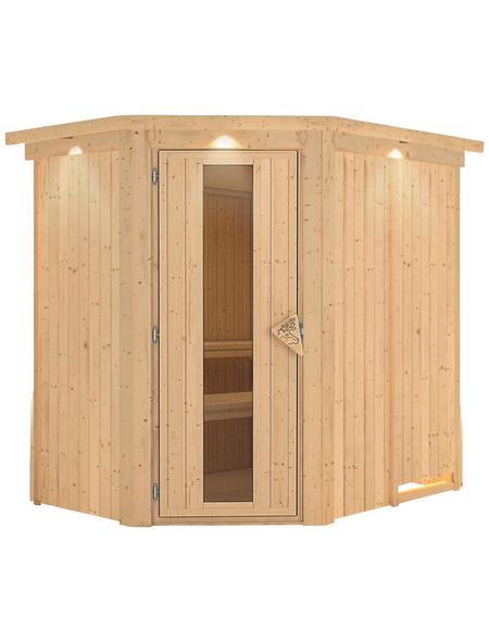 KARIBU Sauna »Vijandi« ohne Ofen