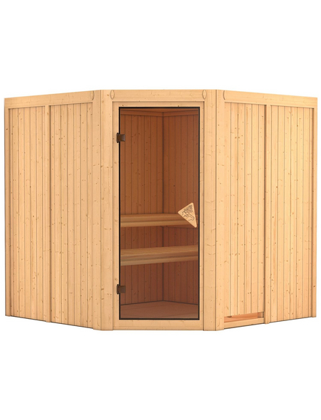 KARIBU Sauna »Vöru« ohne Ofen
