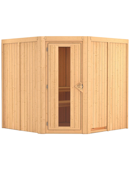 KARIBU Sauna »Vöru«, ohne Ofen