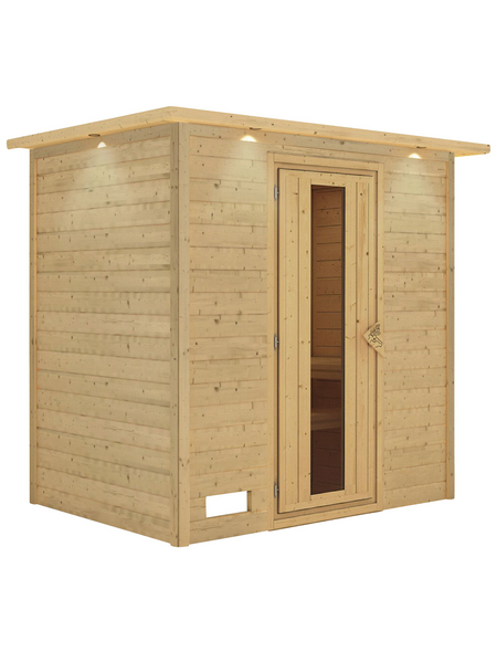 KARIBU Sauna »Welonen« ohne Ofen