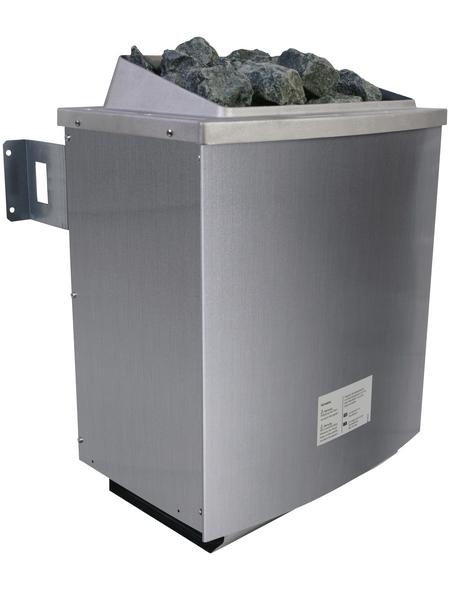WOODFEELING Saunahaus »Birka 1«, BxTxH: 231 x 196 x 235 cm, 9 kW Ofen mit ext. Steuerung