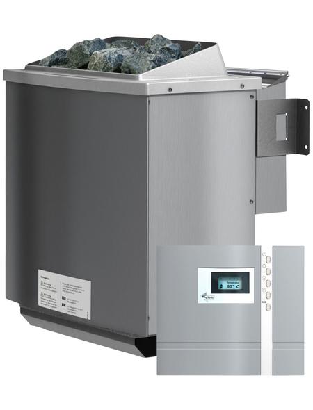 WOODFEELING Saunaofen inkl. externer Steuerung, 4,5 kW