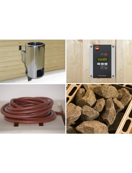 WEKA Saunaofen-Set »OS« inkl. externer Steuerung, 3,6 kW