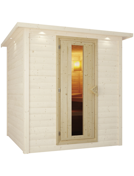 KARIBU Saunatür, , geeignet für: