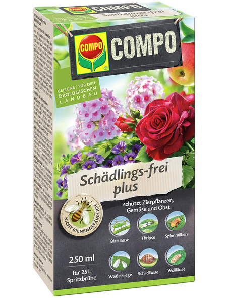 COMPO Schädlings-frei plus 250 ml (Bio)