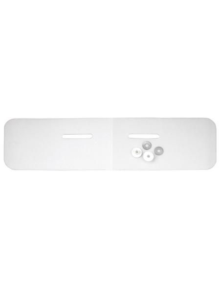 CORNAT Schallschutz, BxH: 24 x 46 cm, weiß