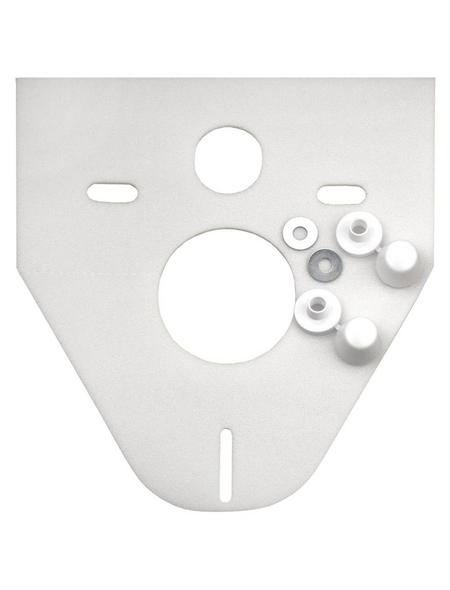 CORNAT Schallschutz, BxH: 37,2 x 46 cm, weiß