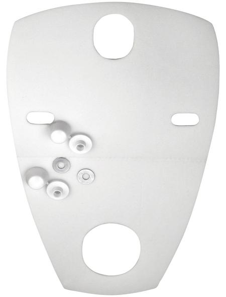 CORNAT Schallschutz, Kunststoff, weiß