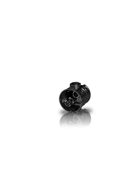 Schalterdose, D.60 mm T60 mm, Schwarz