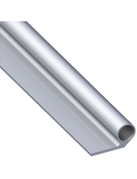 alfer® aluminium Scharnierprofil, Combitech®, Silber, Aluminium